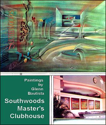 Painting - Sw Oils By Glenn 1998 by Glenn Bautista