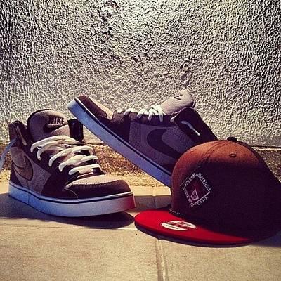Photograph - #swag #nike #shoes #volcom #loveit by Alejandro Rebolledo