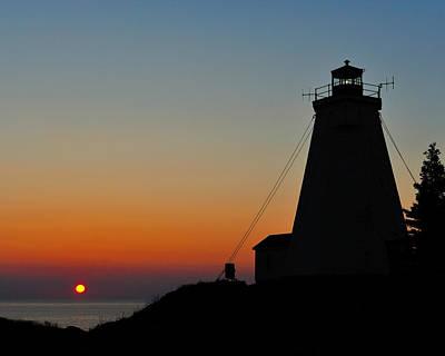Photograph - Swallowtail Sunrise - Grand Manan by Tony Beck