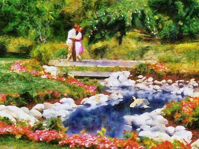 Painting - Swan Bridge by Jai Johnson