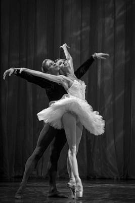 Photograph - Swan Lake  White Adagio  Russia 2 by Clare Bambers