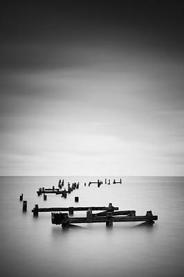 Swanage Photograph - Swanage Old Pier by Nina Papiorek