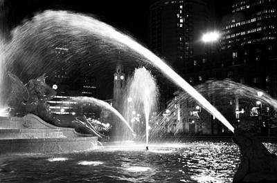 Swann Memorial Fountain Print by Andrew Dinh
