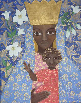 Painting - Swartz by Maria Matheus Maria Santeira