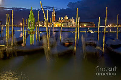 Ambience Photograph - Swaying Gondolas by Heiko Koehrer-Wagner