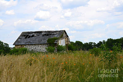 Photograph - Swede Run Barn 1 by Jan Daniels