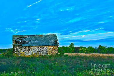Photograph - Swede Run Barn 13 by Jan Daniels