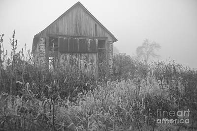Photograph - Swede Run Barn 14 by Jan Daniels