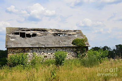 Photograph - Swede Run Barn 16 by Jan Daniels