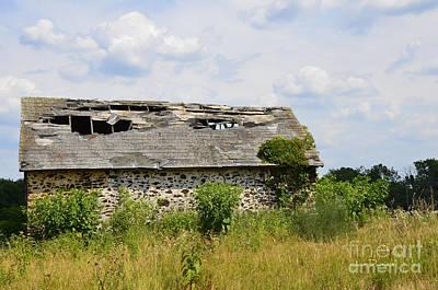 Photograph - Swede Run Barn 16 by Jan Daniels