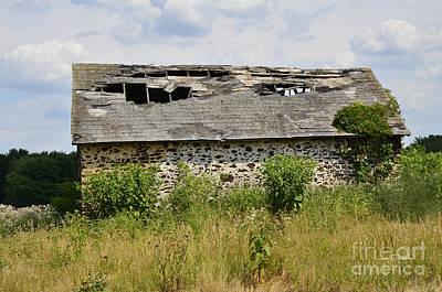 Photograph - Swede Run Barn 2 by Jan Daniels