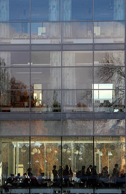Reflexion Photograph - sweden Uppsala University  by Stelios Kleanthous