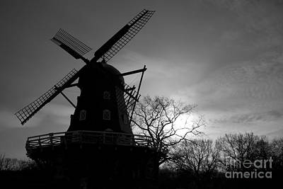 Swedish Windmill Art Print by Mike  Connolly