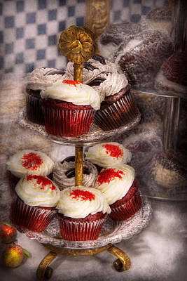 Cake Photograph - Sweet - Cupcake - How Much Is That Cake In The Window by Mike Savad