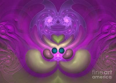 Digital Art - Sweet Dreams - Abstract Digital Art by Sipo Liimatainen