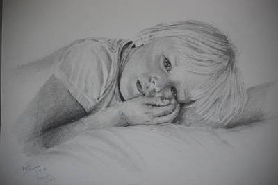 Drawing - Sweet Dreams by Lynn Hughes