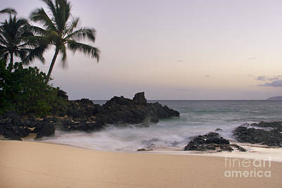Sweet Dreams - Paako Beach Maui Hawaii Art Print