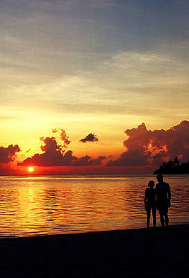 Photograph - Sweet Golden Memory. Maldives by Jenny Rainbow