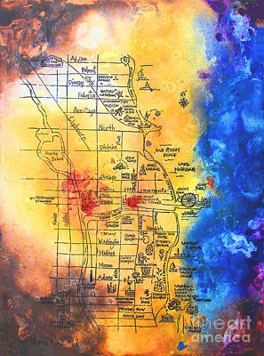 Sweet Home Chicago Art Print