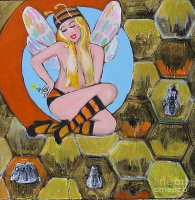 Sweet Honey Art Print