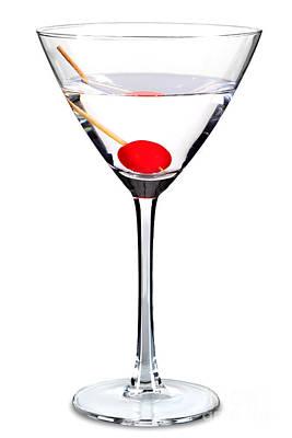 Sweet Martini Isolated Art Print by Richard Thomas