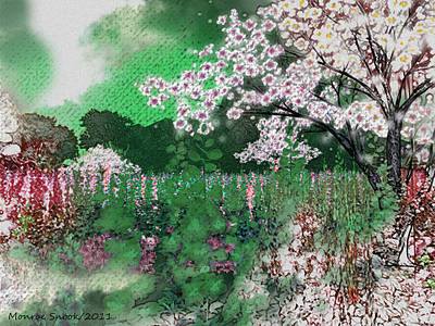 Digital Art - Sweet Meadow by Monroe Snook