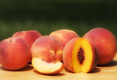 Photograph - Sweet Peaches by Trudy Wilkerson