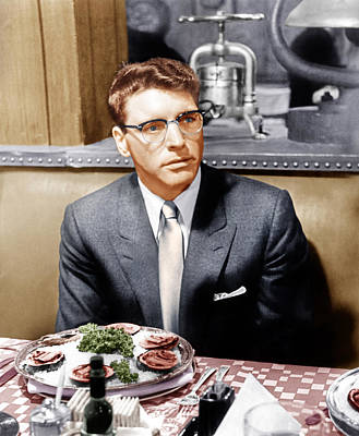 Sweet Smell Of Success, Burt Lancaster Art Print by Everett