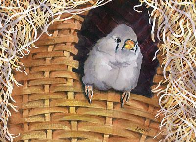 Aviary Painting - Sweet Tweets by Marsha Elliott