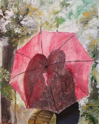 Sweet Valentine Art Print by Kim Selig