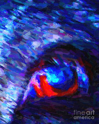Swine Art Print by Wingsdomain Art and Photography