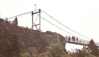 Photograph - Swinging Bridge by Lee Hartsell