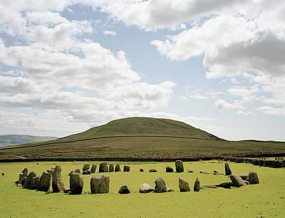 Megalith Photograph - Swinside Stone Circle, England by Michael Marten