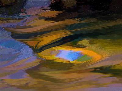 Swirling Water Art Print