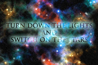Photograph - Switch On The Stars by Anthony Rego