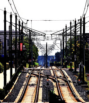 Photograph - Switch Tracks by Melanie Kirdasi