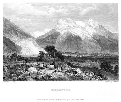 Switzerland: Grindenwald Print by Granger
