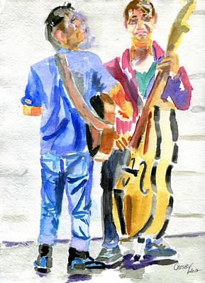 Sxsw Street Scene Art Print