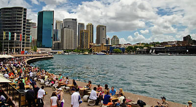 Photograph - Sydney Harbor And Skyline by Harry Strharsky