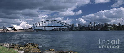 Photograph - Sydney Harbor Australia by Sandra Bronstein