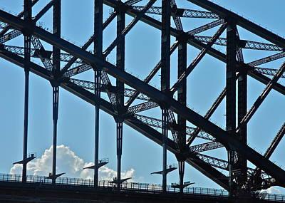 Photograph - Sydney Harbor Bridge Detail by Kirsten Giving