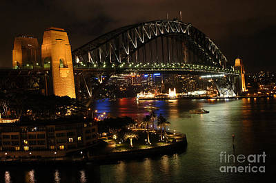Photograph - Sydney Harbour Bridge by Bob Christopher