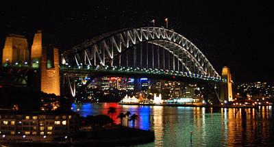 Sydney Skyline Photograph - Sydney Harbour Bridge  by Jessica Estrada