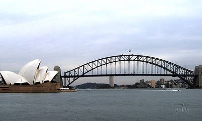 Photograph - Sydney Landmarks by Marie Morrisroe