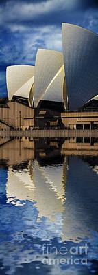 Sydney Opera House Abstract Art Print by Avalon Fine Art Photography
