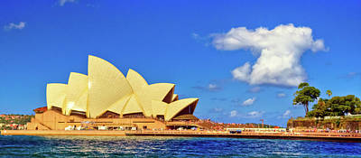 Photograph - Sydney Opera House by Harry Strharsky