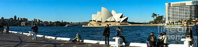 Photograph - Sydney Opera House Panorama by Fran Woods