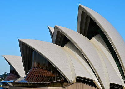 Photograph - Sydney Opera House Rooflines by Kirsten Giving