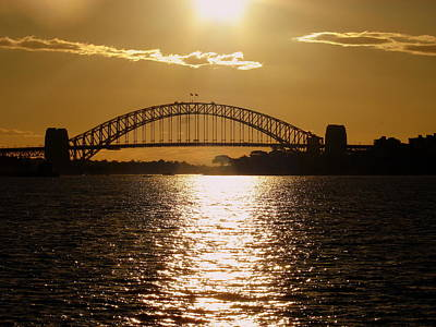 Photograph - Sydney Sunset by Ramona Johnston