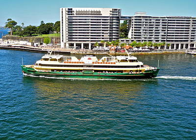 Photograph - Sydney Water Taxi by Kirsten Giving